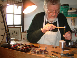 Pen Repair in workshop